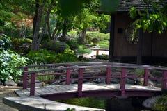 Zen bridge Stock Images