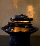 Zen-Brunnen lizenzfreie stockfotos
