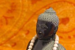 ZEN Buddha black Royalty Free Stock Photos