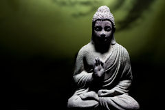 Zen buddha statue royalty free stock photography