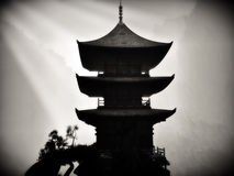 Zen buddhist temple Stock Photography