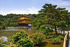 Zen Buddhist temple in Kyoto, Japan Stock Photos