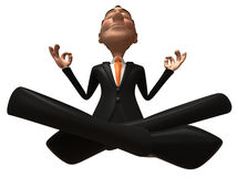 Zen businessman Stock Photos