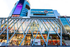 The ZEN Centre World Isetan Bangkok. 3 malls are connected together, and Bangkok shopping center, many of whom are a lot of high-end brand Royalty Free Stock Images