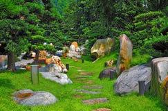 Zen chiński ogród fotografia stock