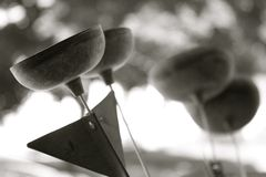 Zen Chimes Arkivbild