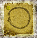 Zen circle background Stock Images