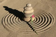 Zen circle Royalty Free Stock Images