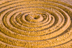 Zen circles Royalty Free Stock Photo