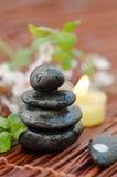 Zen-comme la STATION THERMALE photographie stock