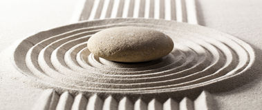 Zen concept for goal achievement Stock Image