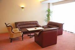 Zen contemporary sofas Royalty Free Stock Photos