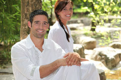 Zen Couple Stock Photography