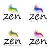 Zen de Kunst van het Leven Ontwerpen Stock Foto