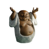 Zen de statuette Photographie stock libre de droits