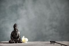 Zen del Buddha Immagine Stock