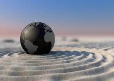 Zen del pianeta Immagini Stock