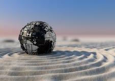 Zen del pianeta Fotografie Stock