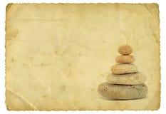 Zen dell'annata Fotografie Stock Libere da Diritti