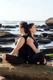 zen di yoga Fotografie Stock