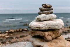 Zen do mar Imagens de Stock Royalty Free