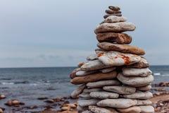 Zen do outono Fotografia de Stock