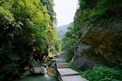 Zen dolina Obraz Stock