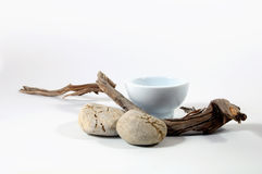 Zen elements - Wabi Sabi Royalty Free Stock Photos