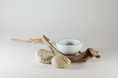 Zen elements - Wabi Sabi Stock Photo