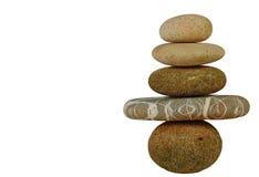zen en pierre Image stock