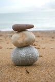 zen en pierre de tour Images libres de droits