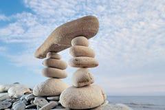 Zen Equilibrium Stock Image
