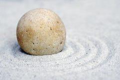 zen för 3 pebble Arkivbild