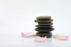 zen för begreppsbrunnsortsten Royaltyfria Bilder