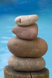 zen för vatten för bakgrundsjämviktssten Arkivfoton