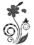 Zen Floral vektor abbildung