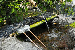 Zen fountain Royalty Free Stock Photos