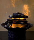 Zen Fountain Royalty Free Stock Photos