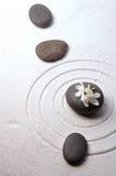 Zen garden. Around zen stones Stock Image