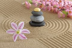 Zen garden Royalty Free Stock Photos