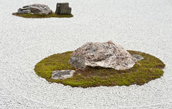 Zen garden Royalty Free Stock Photo