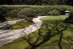 Zen Garden. In the Japanese Tea Garden, San Francisco, California Royalty Free Stock Photo