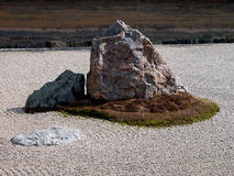 Zen garden-detail Royalty Free Stock Photography