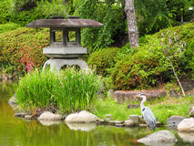 Zen Garden en Osaka Imágenes de archivo libres de regalías