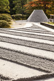 Zen Garden at Ginkakuji Stock Image