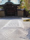 Zen garden. In Kodai-ji temple in Kyoto Royalty Free Stock Images