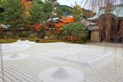 Zen garden, Kyoto. Kodaiji Temple zen garden in Kyoto, Japan Royalty Free Stock Images