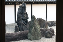 Zen garden landscape Royalty Free Stock Images