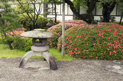 Zen Garden Lantern Royalty Free Stock Photo