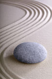 Zen garden meditation and relaxation stone stock images